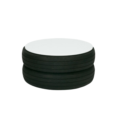 Coffee Table Black Tyre Funktionality